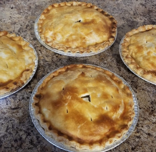 Tourtiere's fresh from the oven